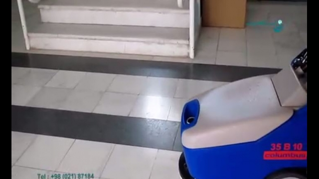 کفشوی محیط اداری  - scrubber dryer for office