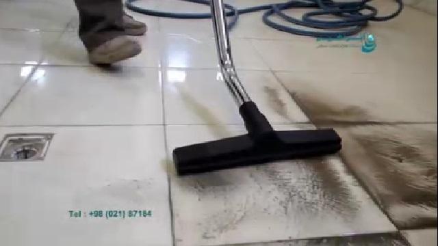 جمع آوری جامدات و مایعات با جاروبرقی صنعتی  - Collect solids and fluids with industrial vacuum cleaners