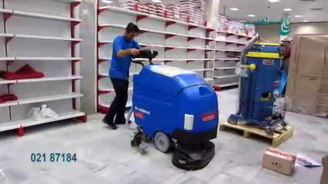 نظافت صنعتی در آشپزخانه  - Industrial cleaning in the kitchen