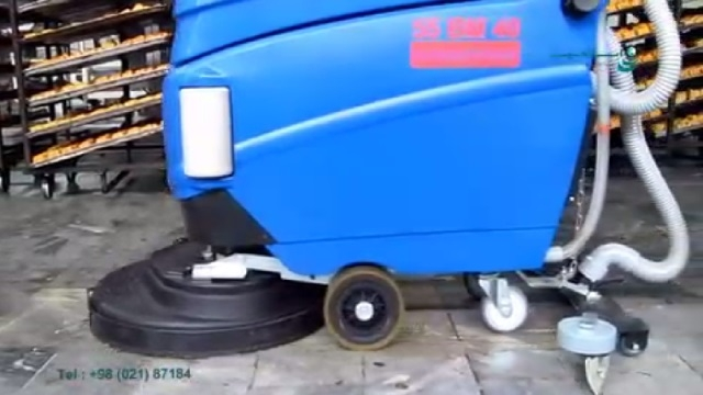 کفشوی شیرینی پزی  - scrubber dryer for confectionery