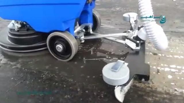 حذف آلودگی های عمیق سطوح بوسیله اسکرابر  - remove the deep contamination of surfaces  by scrubber