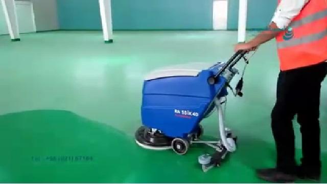 از بین بردن آلاینده های سطح با اسکرابر  - Eliminate pollution of surface with scrubbers