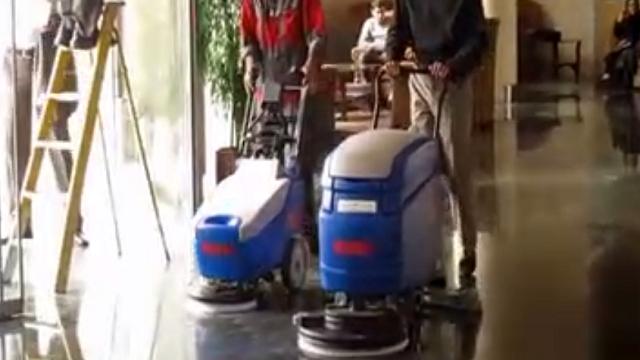 تفاوت مدل های مختلف اسکرابر دستی  - Difference of the models of walk behind scrubbers