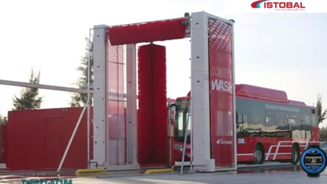شستشوی ماشین سنگین با دستگاه کارواش اتوماتیک تونلی  - Washing with heavy automatic tunnel car was