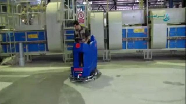 اسکرابر سرنشین دار  - Scrubber manned