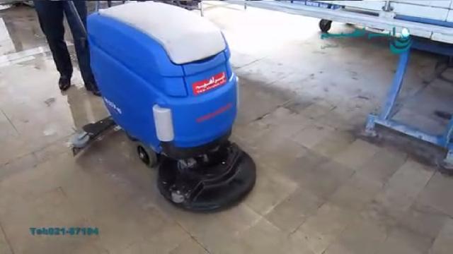 اسکرابر دستگاه مناسب برای شستشوی عمیق سطوح  - Scrubber suitable for deep surface washing