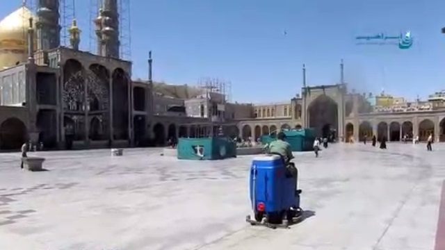 کفشوی اماکن مذهبی  - scrubber dryer for religious area