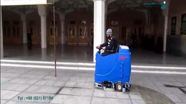 کاربرد اسکرابر صنعتی در شستشوی اماکن مذهبی  - using scrubber dryer in cleaning religious places