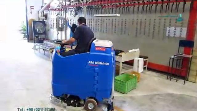 قدرت مانور بالای اسکرابر خودرویی  - The power of maneuvering the ride-on scrubber