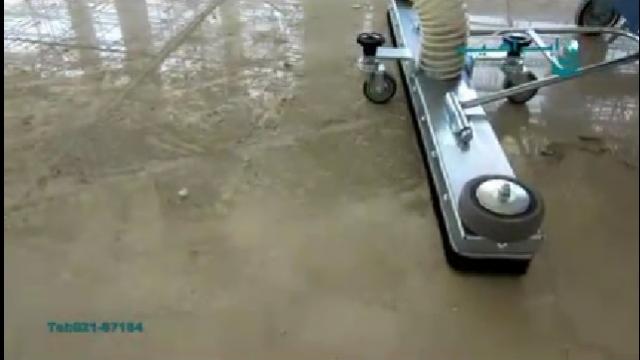 نظافت اولیه سطوح با استفاده از جاروبرقی صنعتی  - Primary cleaning surfaces using industrial vacuum cleaners