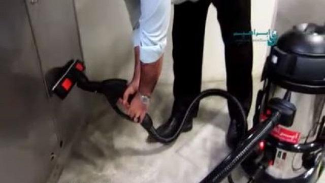 شستشو و ضدعفونی کردن با بخارشوی صنعتی  - washing sterilization Industrial steam cleaner