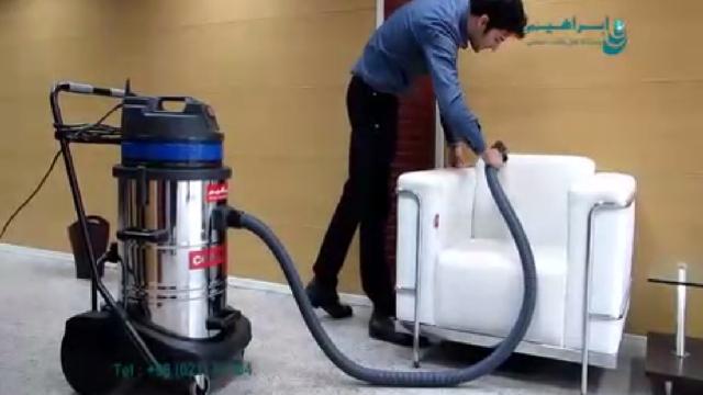 نظافت مراکز فرهنگی با جاروبرقی تجاری  - Cleaning cultural centers with commercial vacuum cleaner