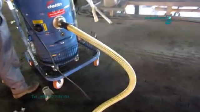 قابلیت به کارگیری جاروبرقی صنعتی در کارخانه فولاد  - Ability to use industrial vacuum cleaner in steel plant