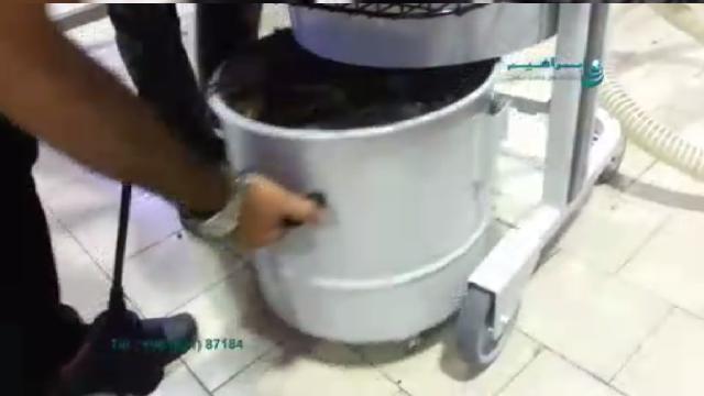 جمع آوری ضایعات در صنایع غذایی با جاروبرقی صنعتی  - Collect waste in food industry with vacuum cleaners