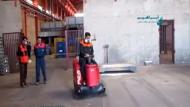 سوییپر برای نظافت پارکینگ و محوطه های داخلی و بیرونی  - Sweeper parking cleaning indoor outdoor spaces