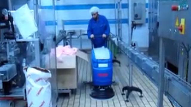 بهداشت صنایع غذایی با اسکرابر  - Health food industry with scrubbers
