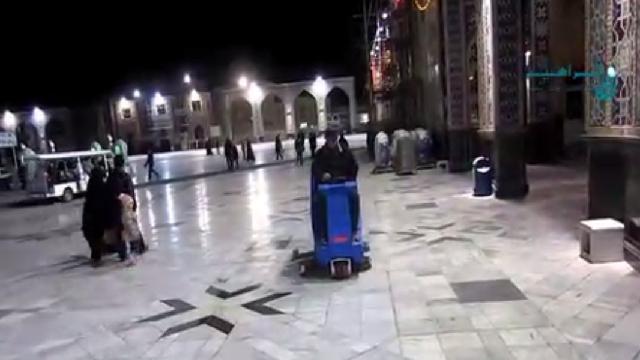 شستشوی بی نظیر سطوح در اماکن مذهبی با اسکرابر  - cleaning religious places with scrubber dryer