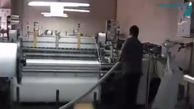 نظافت ماشین آلات نساجی با جاروبرقی صنعتی  - industrial vacuum cleaner for textile machinery