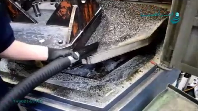 جاروبرقی صنعتی تخصصی مکش مایع و جامد و جداسازی آن  - solid and liquid collecting and separating industrial vacuum cleaner