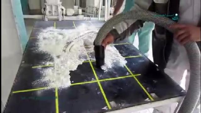 جمع آوری ذرات پودری با جاروبرقی صنعتی  - Collection of powdered particles with industrial vacuum cleaners