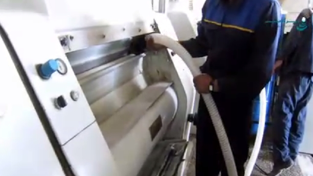 جمع آوری آلودگی صنعتی با مکنده صنعتی  - Industrial vacuum cleaner dust collection