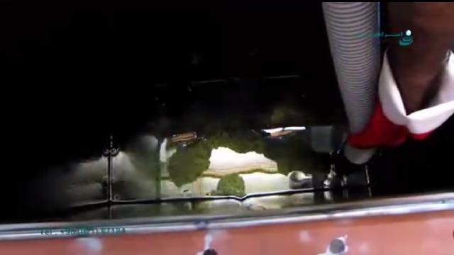 مکش مایعات روغنی با جاروبرقی صنعتی  - Suction oily liquids with industrial vacuum cleaners