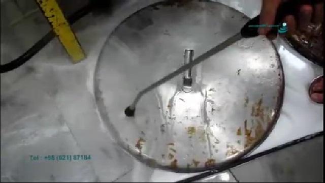 کاربرد واترجت در نظافت آشپز خانه های صنعتی  - Usage of high pressure washer in cleaning industrial kitchens