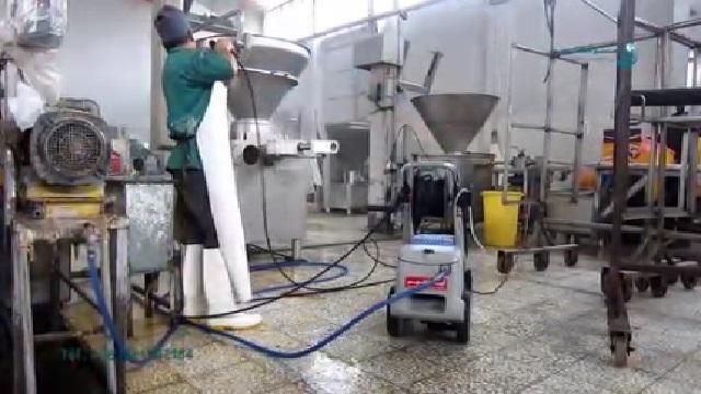 کاربرد واترجت در صنایع غذایی  - Pressure Washer Applications in Food Industry