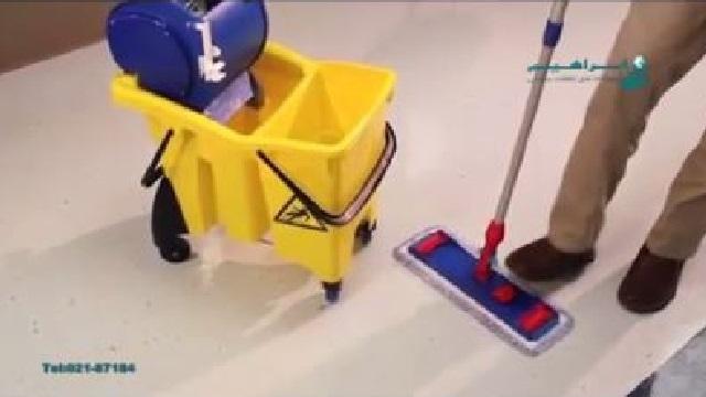 ترولی نظافتی، وسیله ای کارآمد برای سهولت در نظافت  - Cleaning trolley, efficient tool ease cleaning