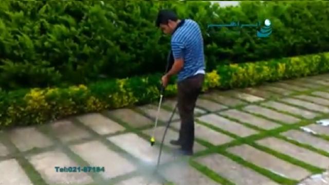 شستشوی آسان و استثنایی حیاط و باغ با کارواش خانگی  - Easy washing yard and garden with high pressure washer