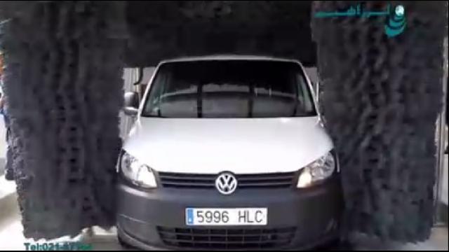 شستشوی خودرو بوسیله کارواش تمام اتوماتیک تونلی  -  car washing by automatic Car wash tunnel system
