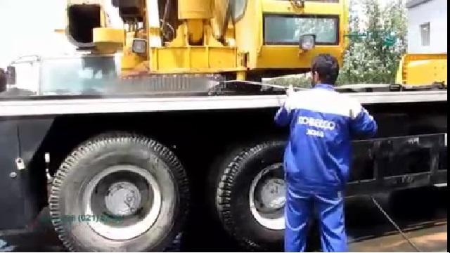 شستشوی خودروهای سنگین با واترجت  - Truck Wash by Pressure Washer