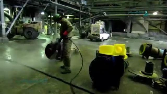 تسریع در نظافت تجهیزات با استفاده از واترجت  - Speed up equipment cleaning by using high pressure washer