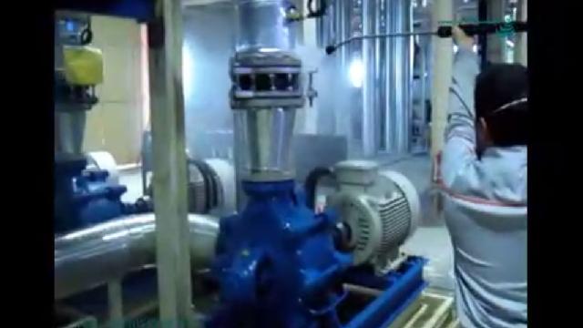 شستشوی تجهیزات کارخانه با واترجت  - Washing factory equipment with high pressure
