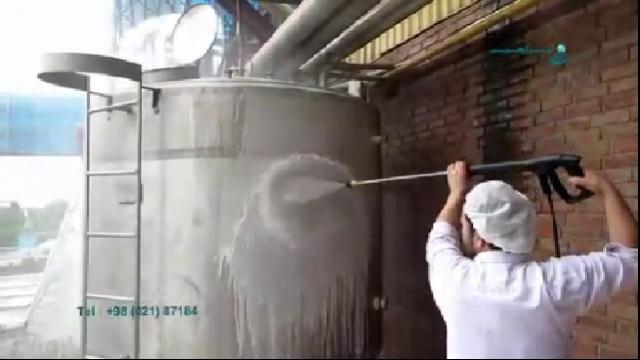 استفاده از مواد شوینده در نظافت با واترجت  - The use of detergents in cleaning by high pressure washer