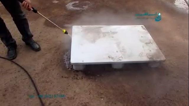 کاربرد واترجت صنعتی در شستشوی تجهیزات صنایع غذایی  - The use of high pressure washer for cleaning equipment of food industry