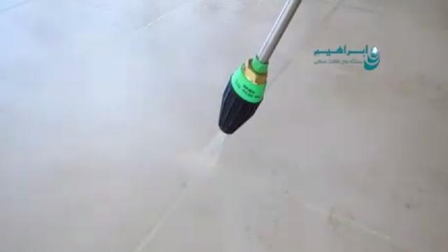 جرم گیری سطوح با واترجت  - Scaling surfaces -  high pressure washer