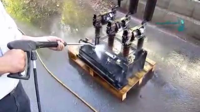 شستشوی قطعات صنعتی با کارواش صنعتی  - Industrial equipment cleaning  + high pressure cleaner