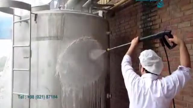 شستشوی تاسیسات و محوطه صنایع غذایی  -  Washing facilities and environment food industry
