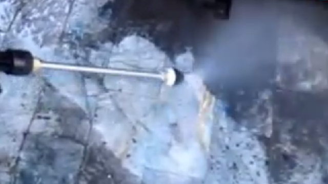 نظافت آشپزخانه صنعتی با واترجت  - cleaning Industrial kitchen by high pressure cleaner