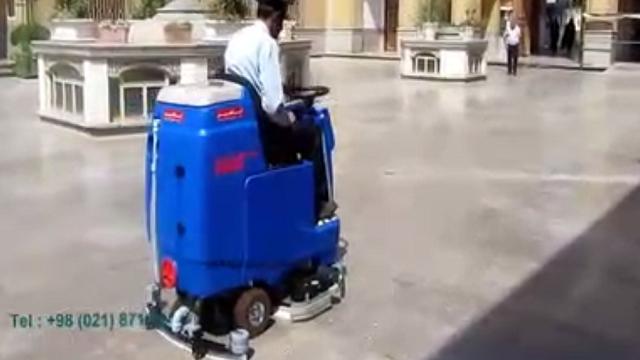 نظافت اماکن مذهبی با اسکرابر  - religious-places-cleaning - scrubber dryer