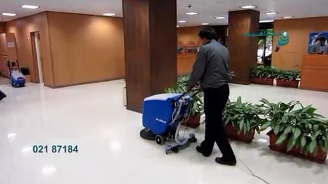 کفشور مراکز اداری  - scrubber drier for office
