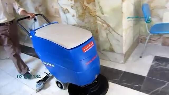 شستشو و نظافت بیمارستان با استفاده از اسکرابر  - cleaning hospitals scrubbers