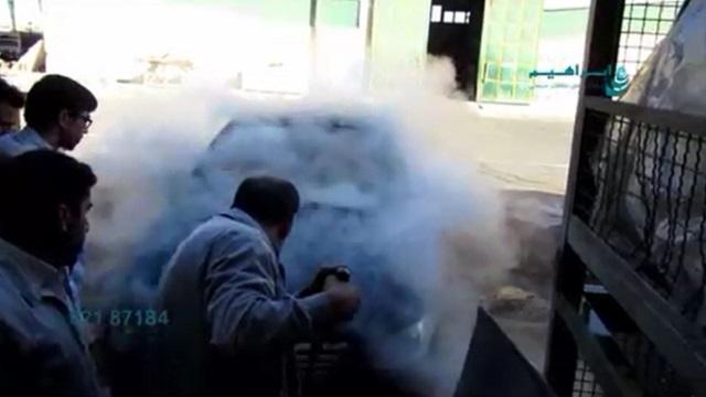 شستشوی خودرو به وسیله دستگاه واترجت صنعتی تک فاز  - Car Wash by industrial waterjet machines, single-phase