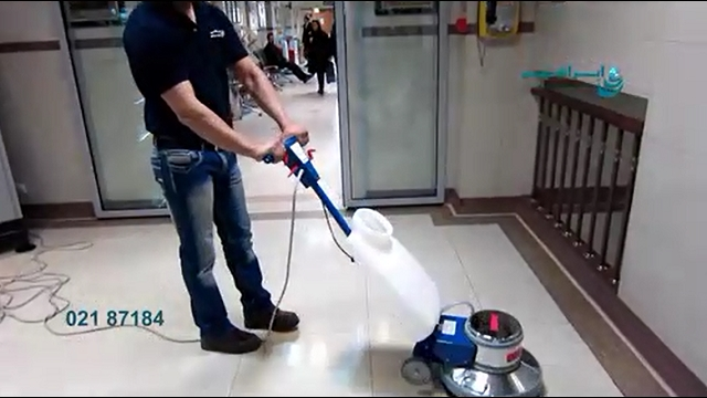 جلادهی سطوح با استفاده از دستگاه پولیشر  - Overall polished surfaces using a polisher