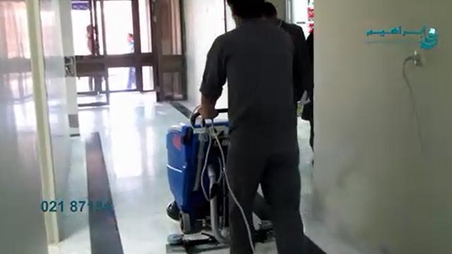 اسکرابر بیمارستان  - Hospital scrubber