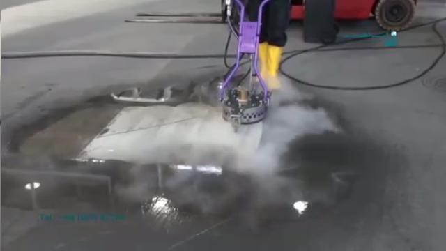 شستشوی حرفه ای انواع سطوح با واترجت صنعتی  - Professional cleaning surfaces with high pressure