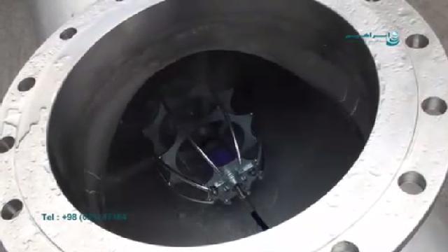 رسوب زدایی از انواع لوله با واترجت صنعتی  - descaling pipe with ultra high pressure