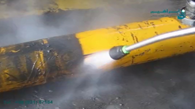 جت واش آب گرم و حذف آلودگی ها در صنایع فولاد  -  Hot water jets and removal of contaminants in the steel industry