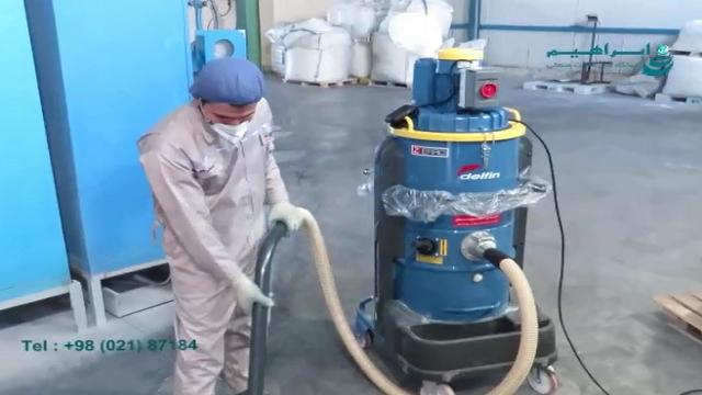 مکنده صنعتی آب و خاک مناسب استفاده در محیط های صنعتی  - Industrial vacuum cleaner Water and Soil Suitable for use in industrial environments